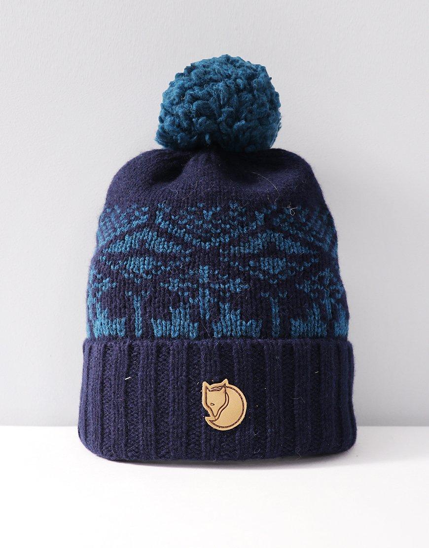 Fjällräven Snow Ball Bobble Hat Storm