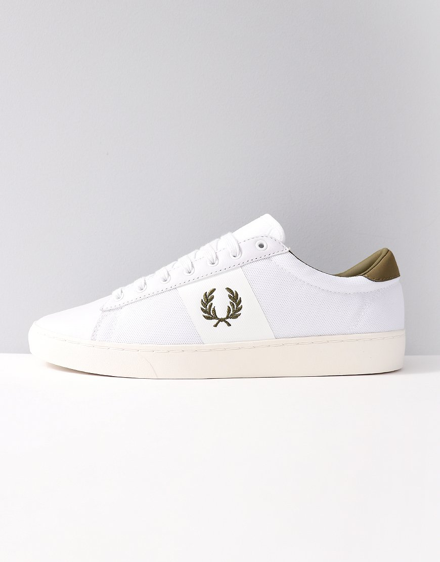 Fred Perry Spencer Mesh Trainers White