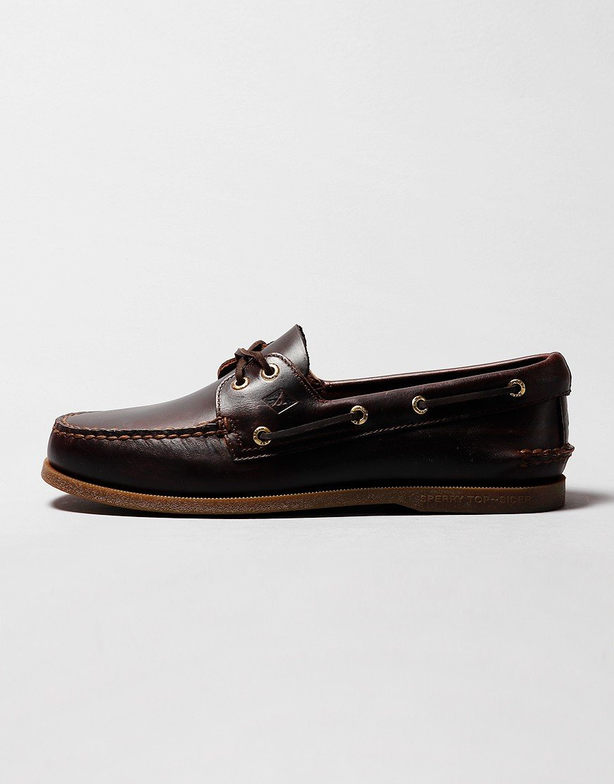Sperry 2-Eye Boat Shoe Amaretto
