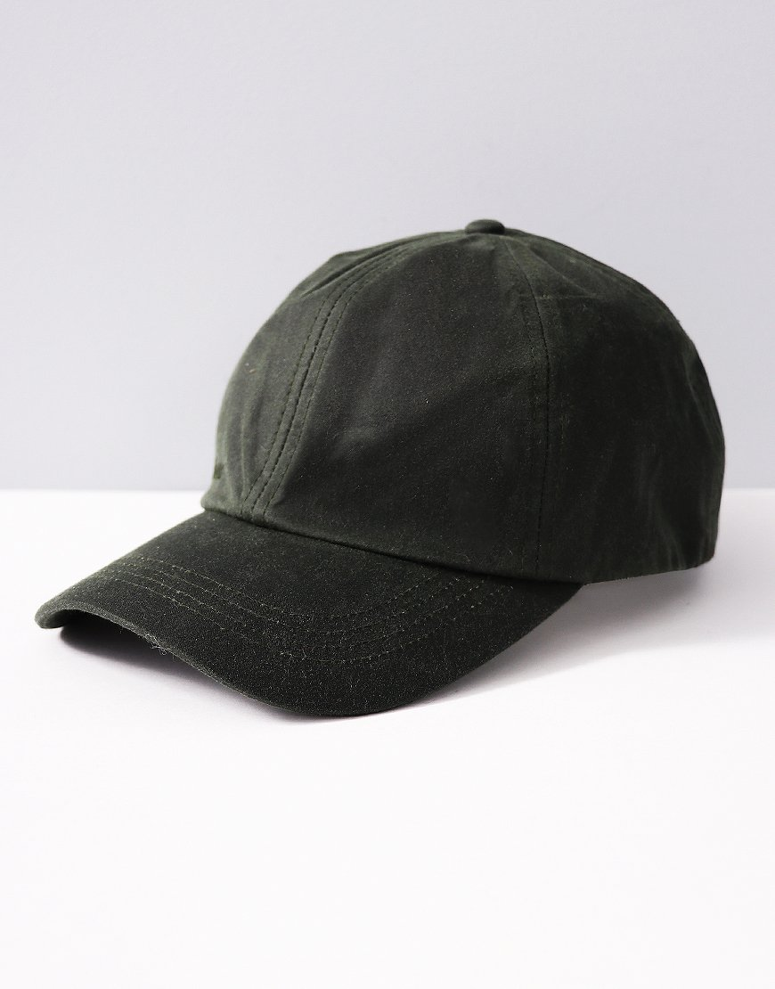 Barbour Wax Sports Cap Sage