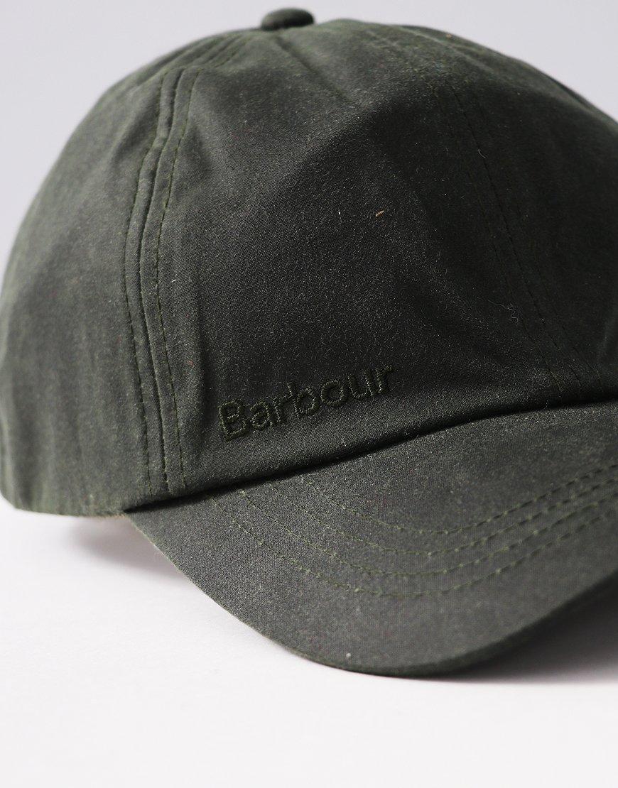 8416ee282d8 Barbour Wax Sports Cap Sage - Terraces Menswear
