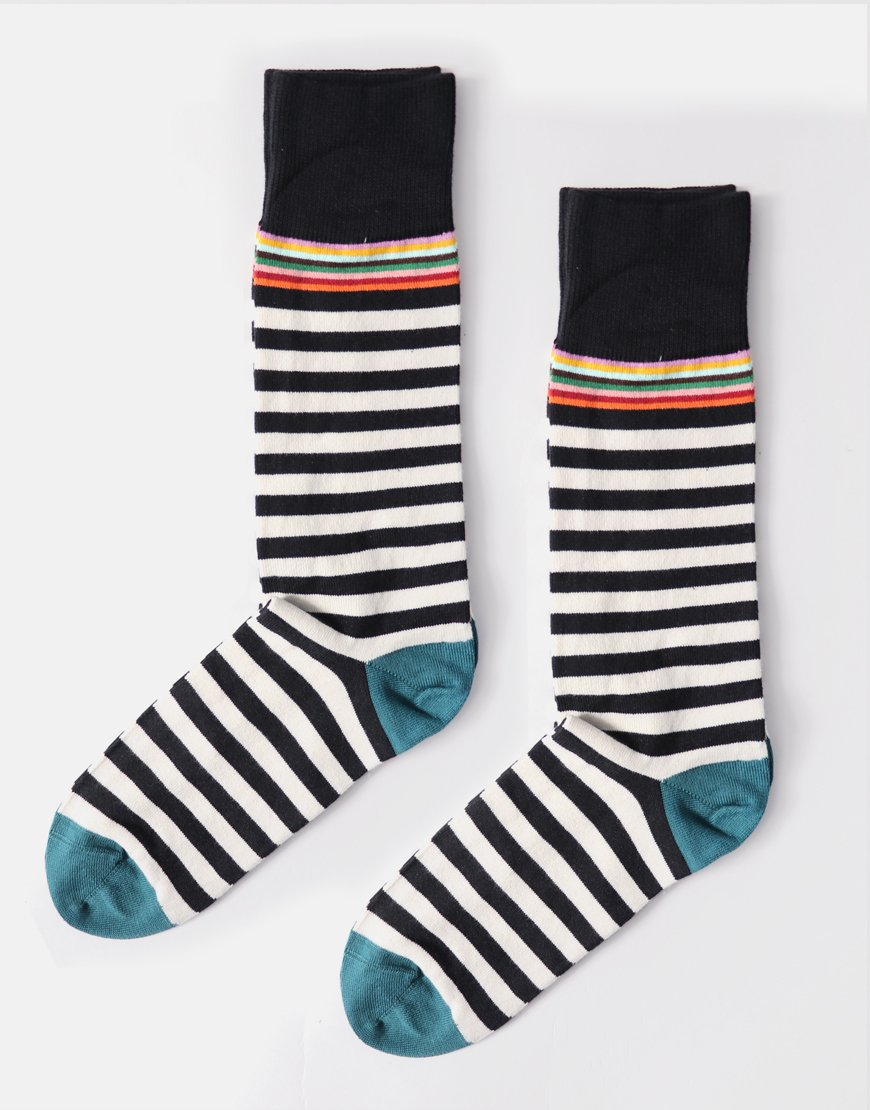 Paul Smith Multi 2 Stripe Black