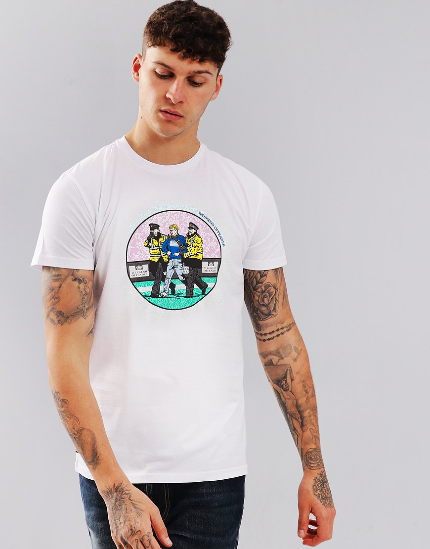 Weekend Offender The Law T-Shirt White