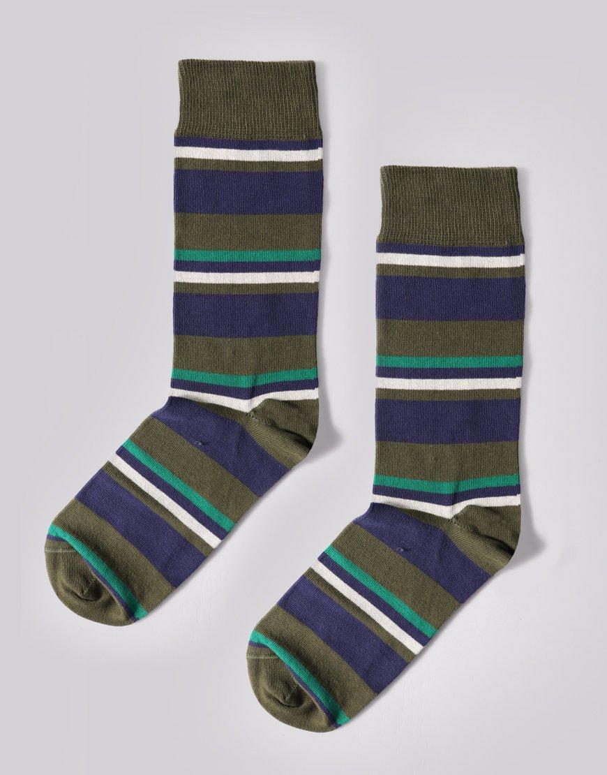 Barbour Thurland Socks Green