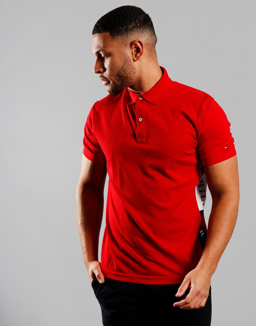 Tommy Hilfiger Insert Polo Shirt Primary Red