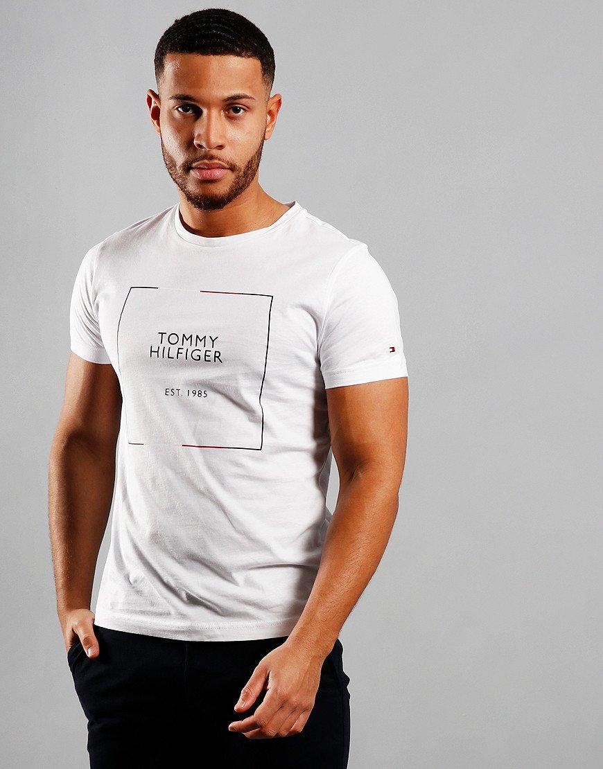 Tommy Hilfiger RWB Box Out T-Shirt White