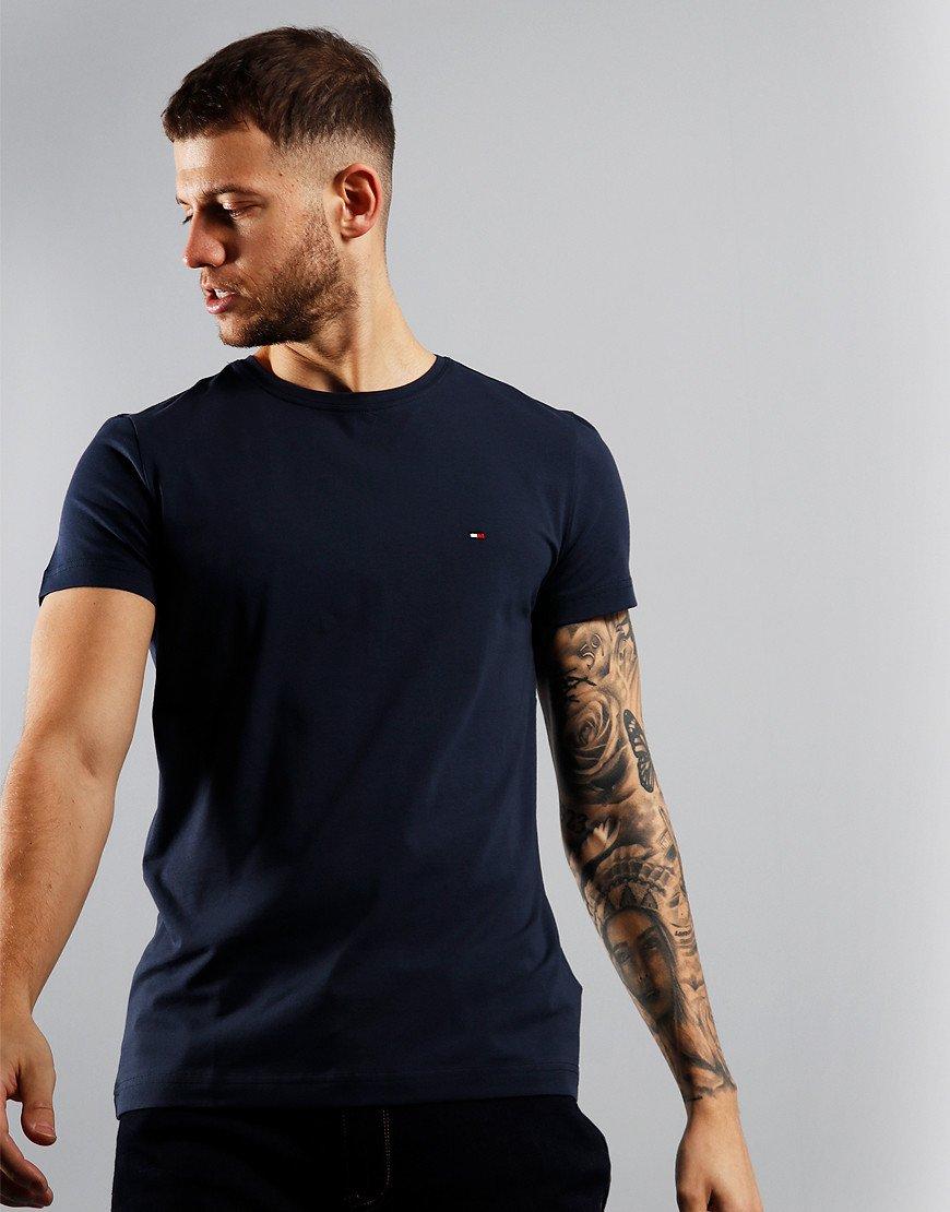 Tommy Hilfiger Stretch Fit T-Shirt Navy Blazer