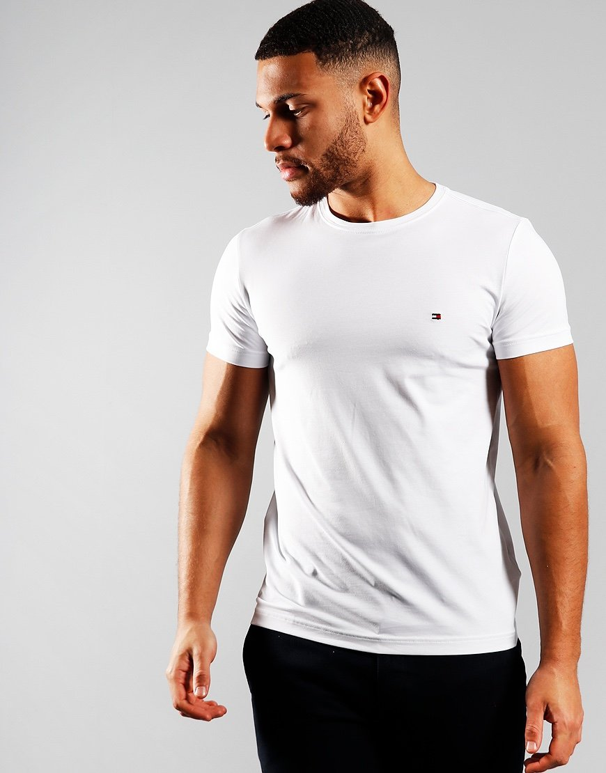 Tommy Hilfiger Stretch Fit T-Shirt Bright White