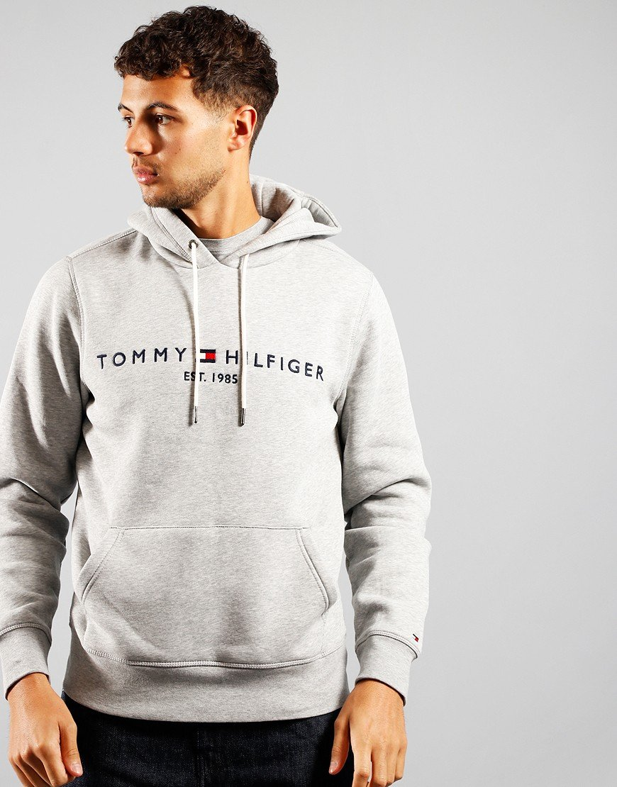 Tommy Hilfiger Core Tommy Hoodie Cloud Heather