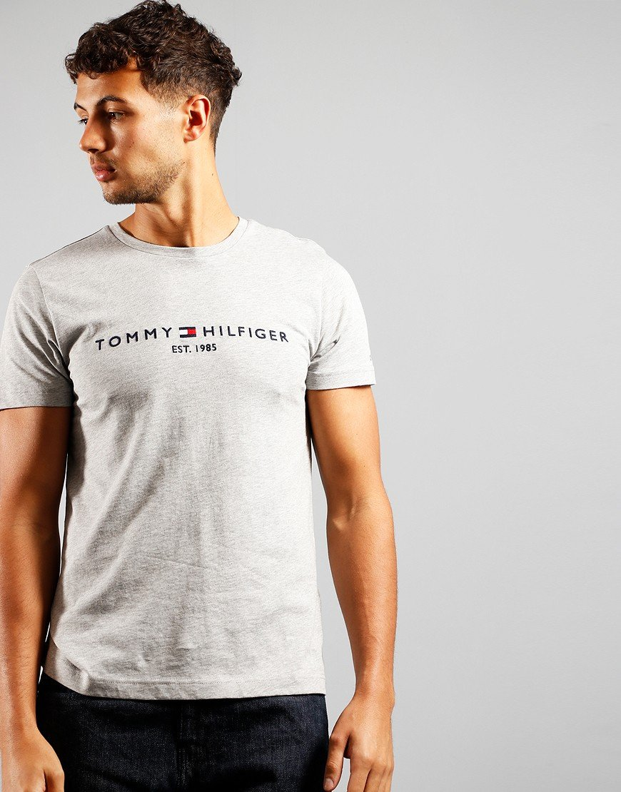 Tommy Hilfiger Core Tommy T-Shirt Cloud Heather