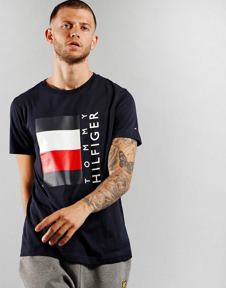 Tommy Hilfiger Corp Strip Box T-Shirt Desert Sky
