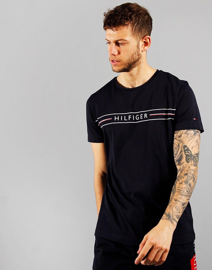 Tommy Hilfiger Corp Hilfiger T-shirt Desert Sky