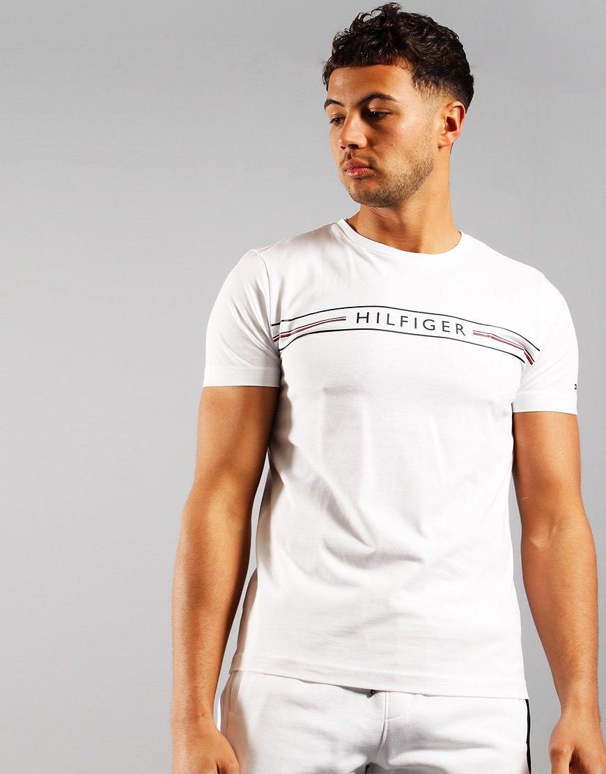 Tommy Hilfiger Corp Hilfiger T-shirt White