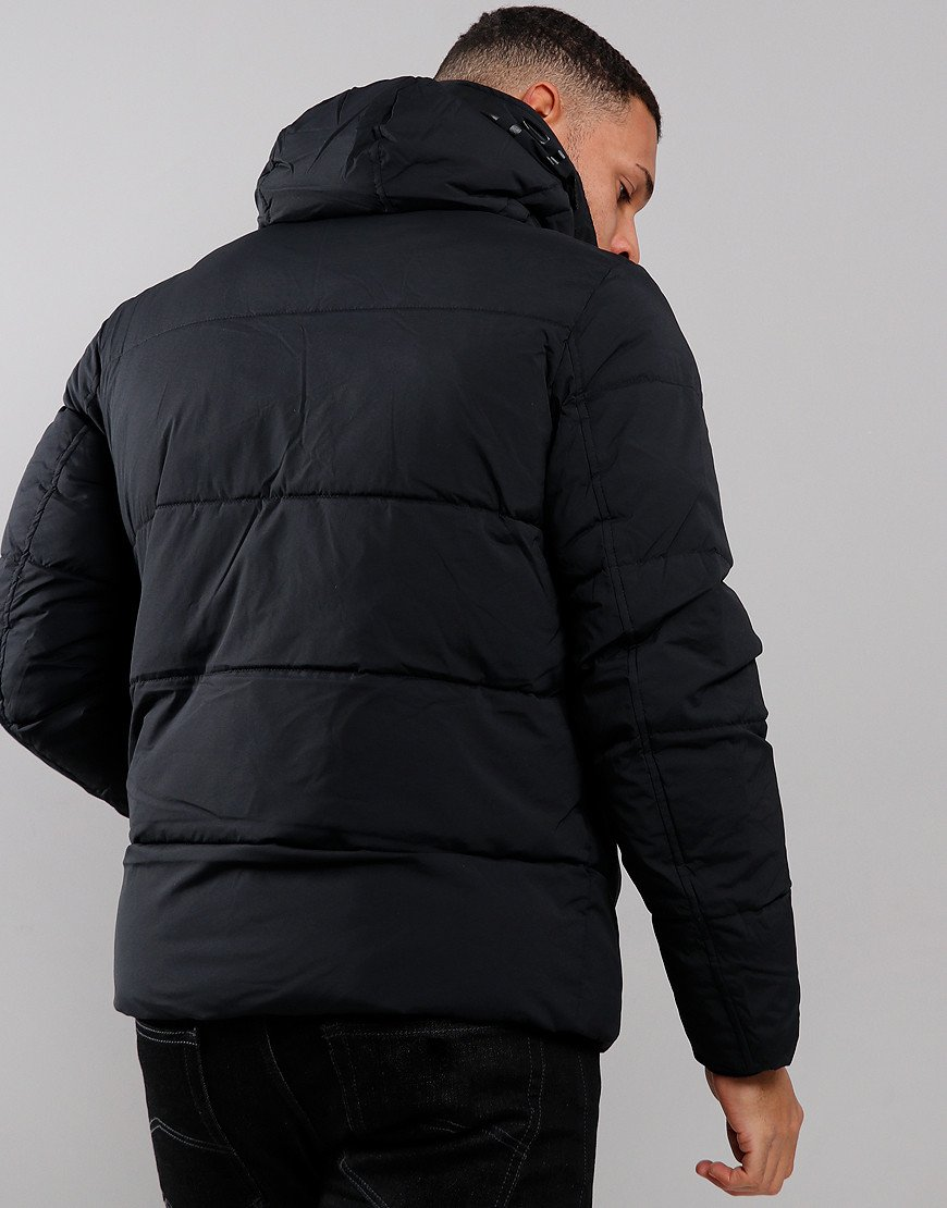 Tommy Hilfiger Hooded Bomber Jacket Black