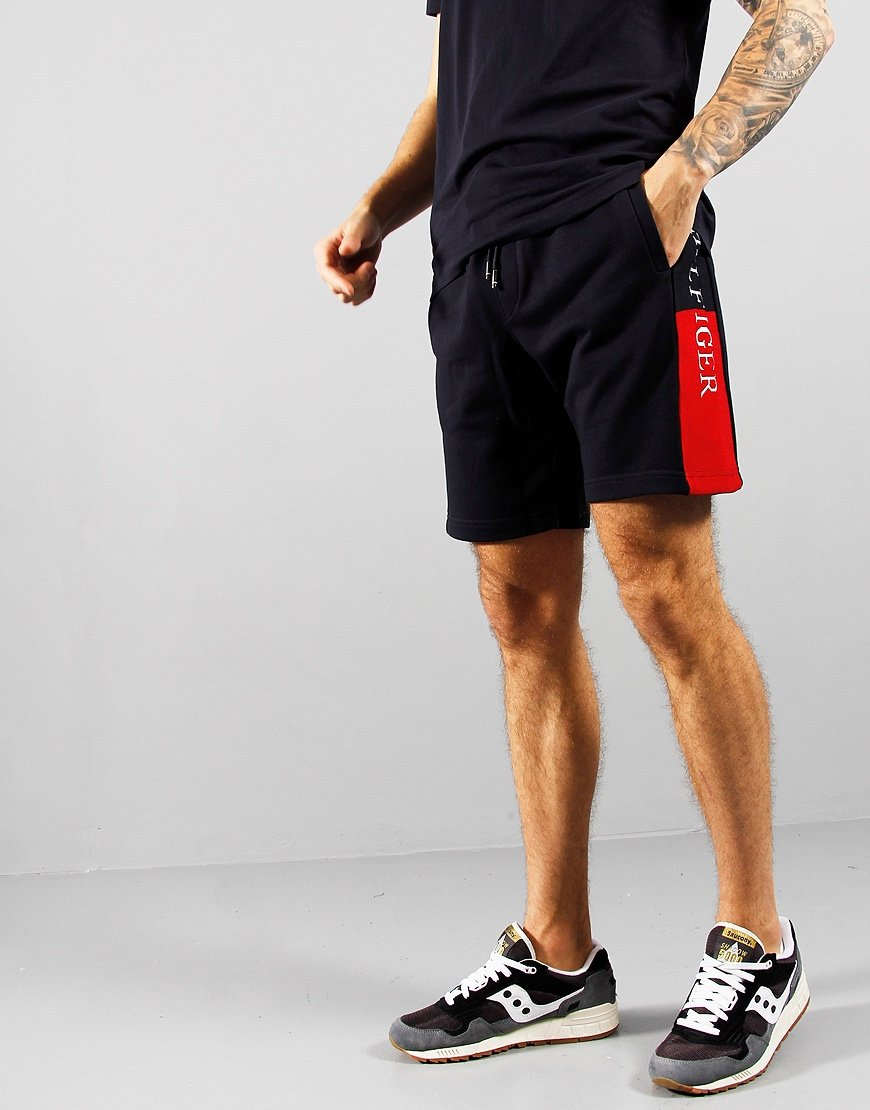 Tommy Hilfiger Intarsia Sweat Shorts Desert Sky