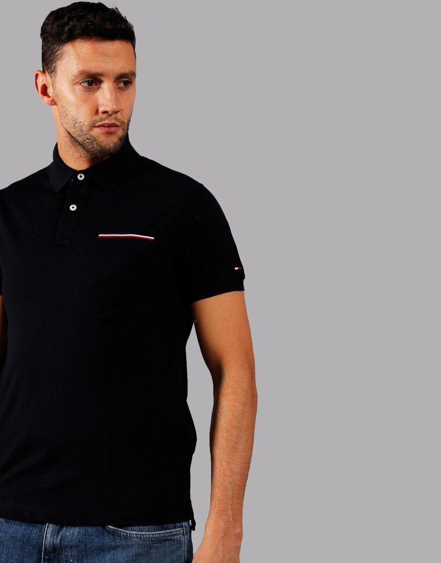 Tommy Hilfiger Pocket Polo Shirt Desert Sky