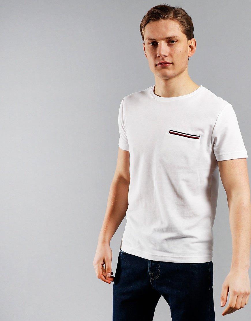 Tommy Hilfiger RWB Pocket T-Shirt White