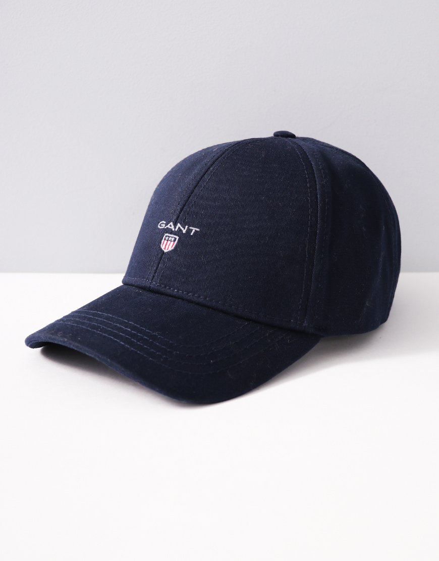 Gant Cotton Twill Cap Black