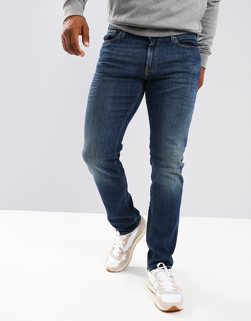 Emporio Armani J06 Slim Fit Jeans Denim Blue