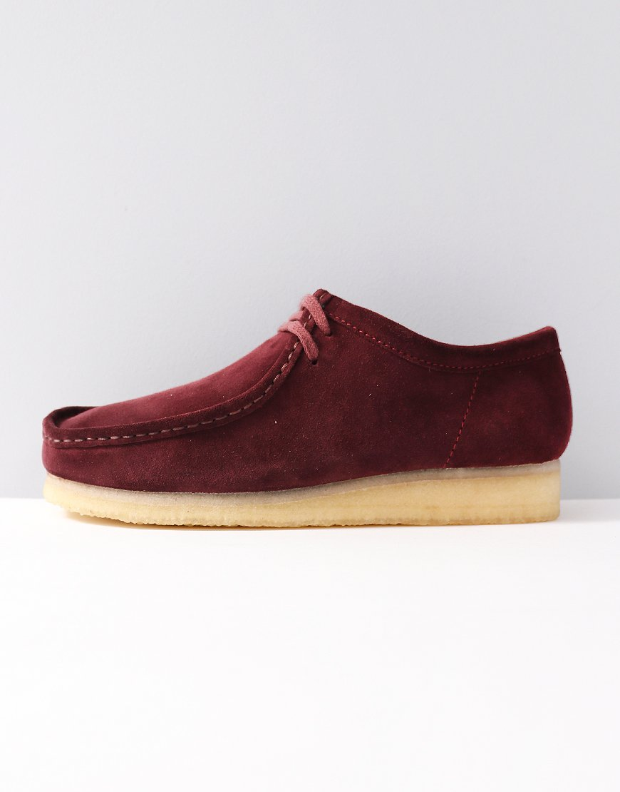 Clarks Originals Wallabee Shoe Bordeaux
