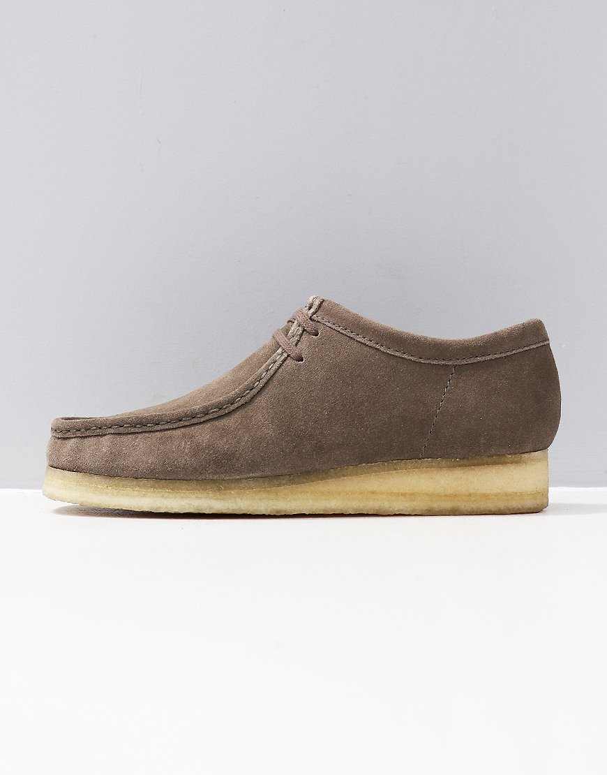 Clarks Originals Wallabee Shoe Grey