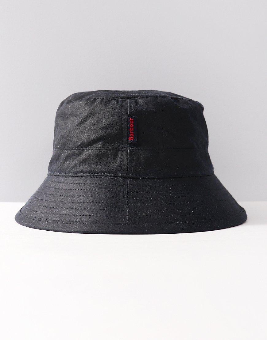 Barbour Wax Bucket Hat Navy