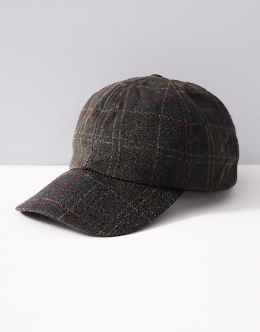 Barbour Waxed Cap Classic Tartan