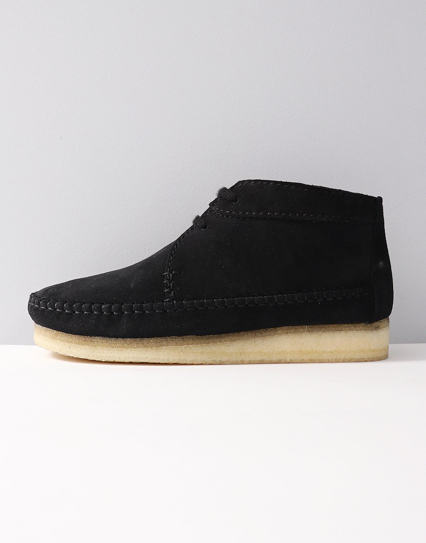 Clarks Originals Weaver Boot Black