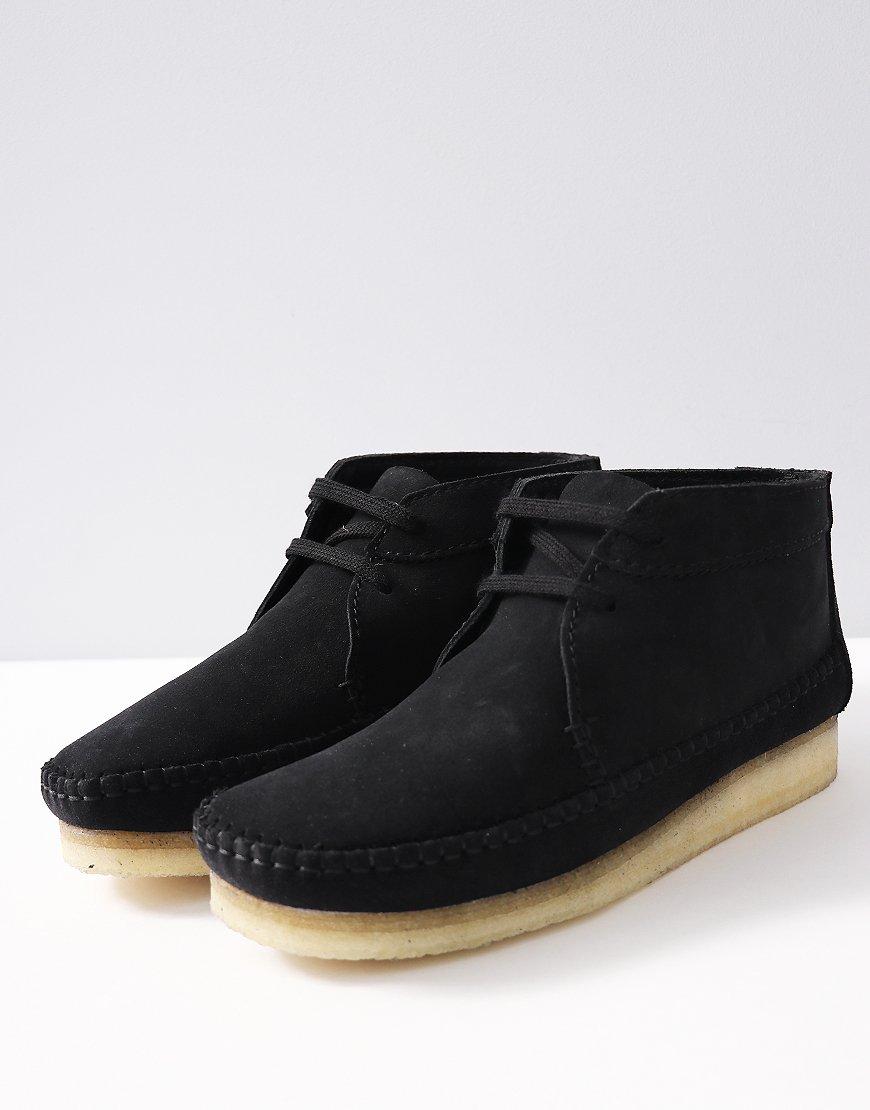 7957137b601d1 Clarks Originals Weaver Boot Black - Terraces Menswear