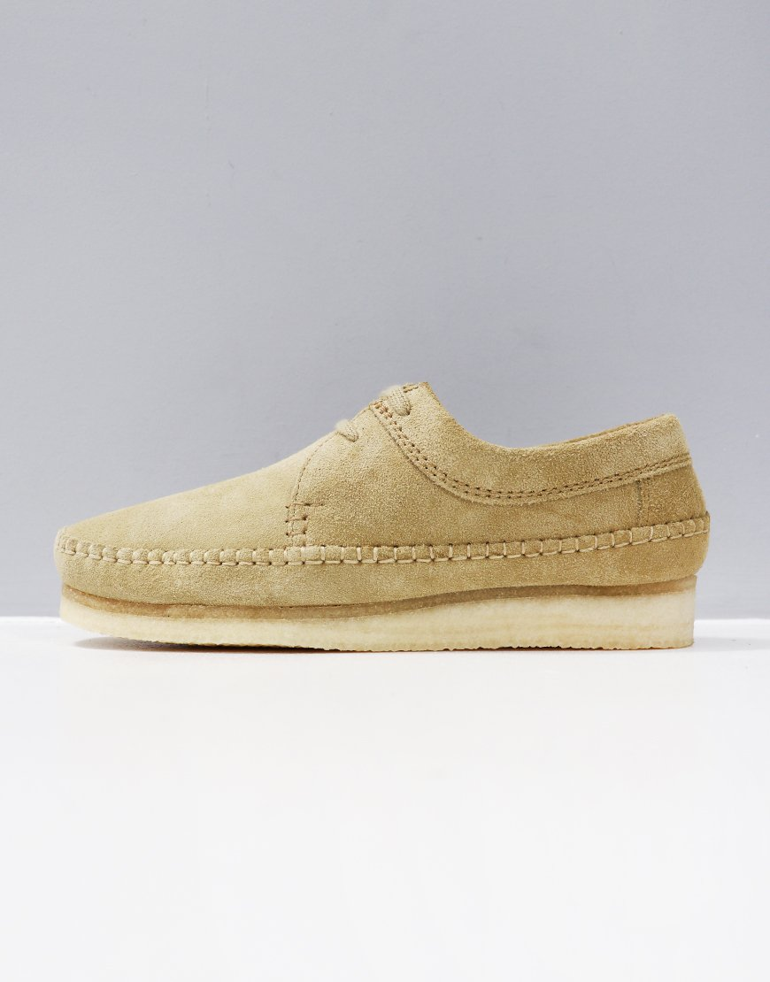 Clarks Originals Weaver Shoe Maple Suede