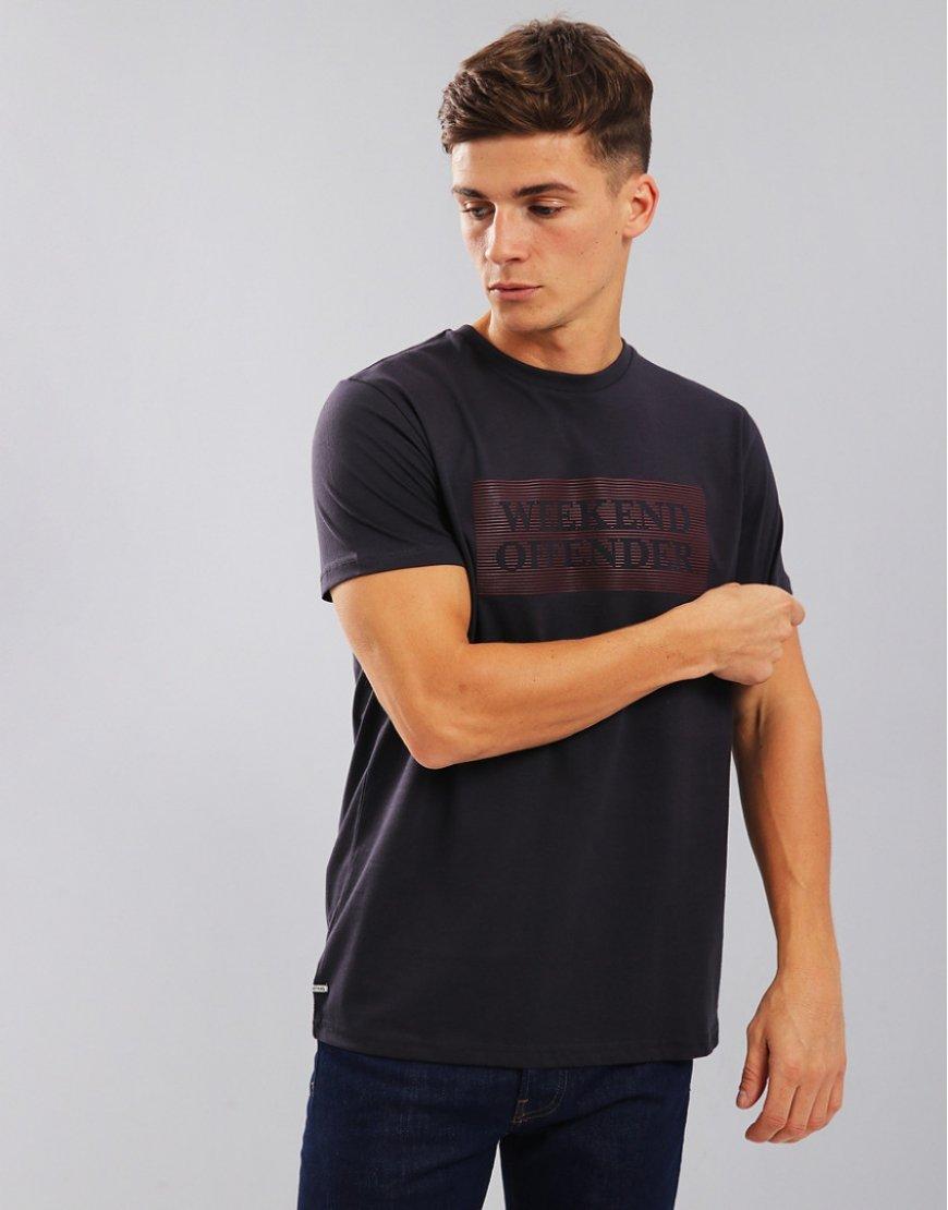 Weekend Offender Groves T-Shirt Steel