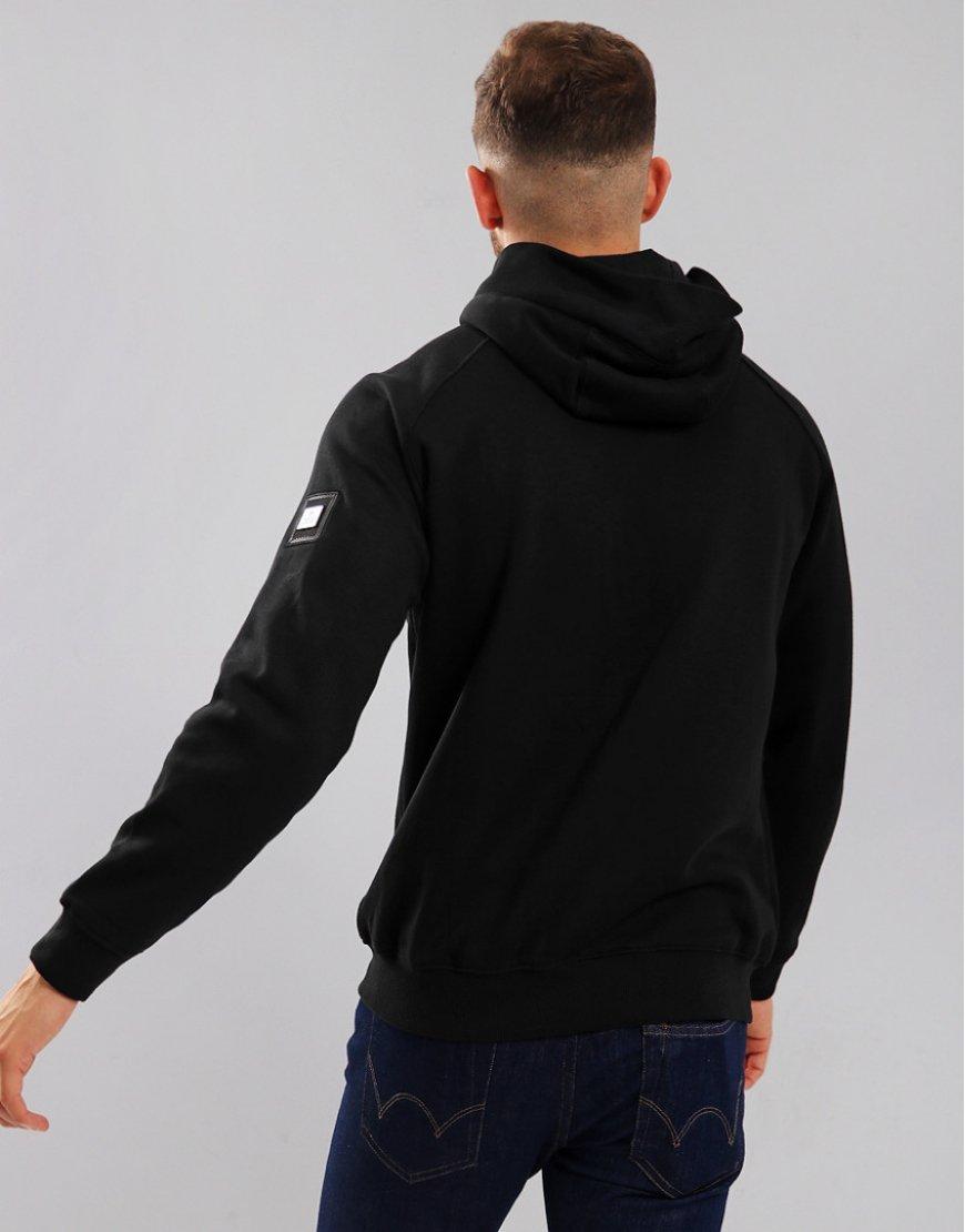 dfdebe43d31f Weekend Offender Ross Zip Hoodie Black - Terraces Menswear