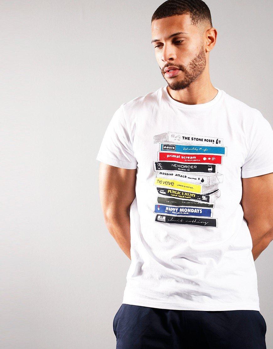 Weekend Offender Cassettes T-shirt White