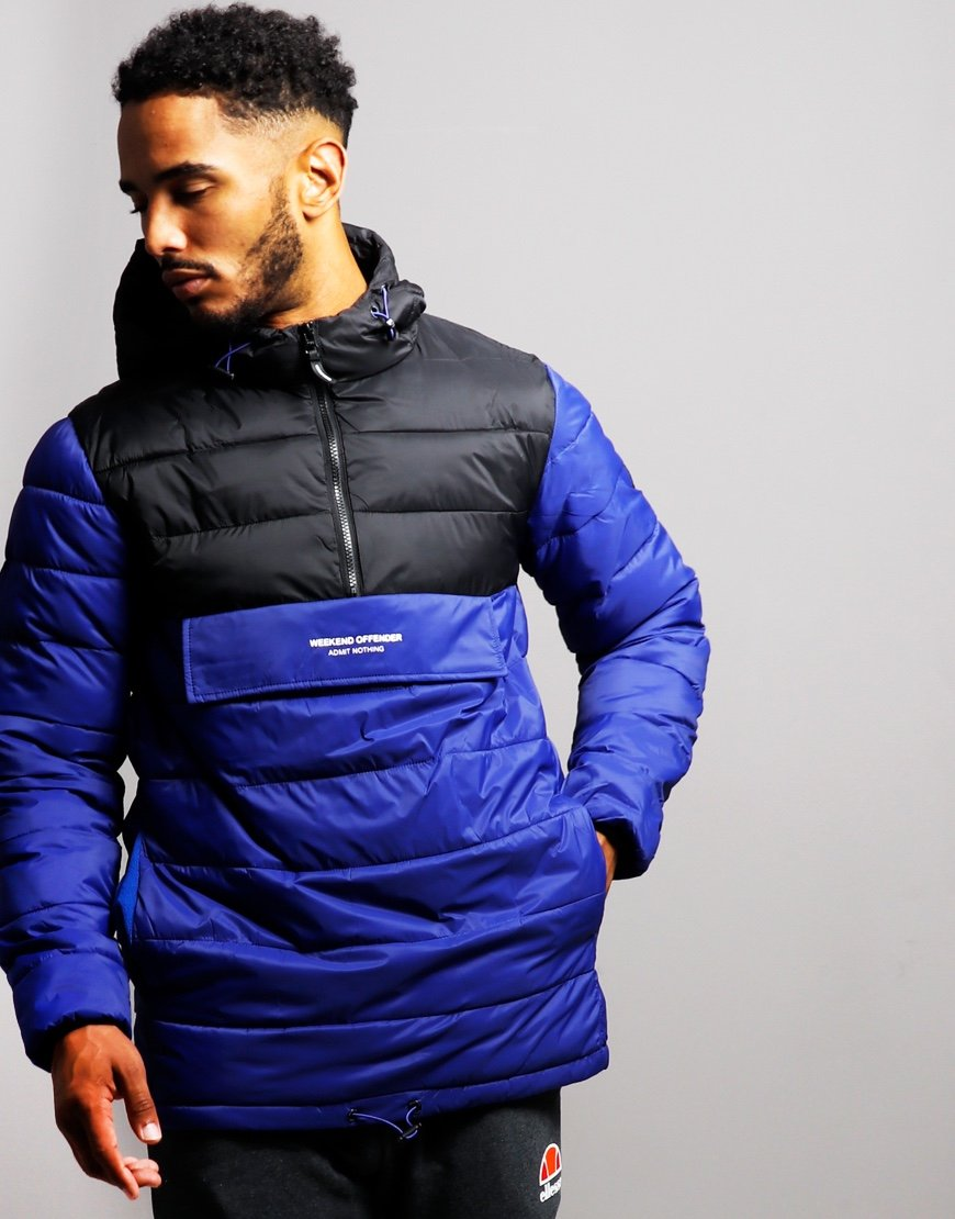 Weekend Offender Pablo Padded Overhead Jacket Electric