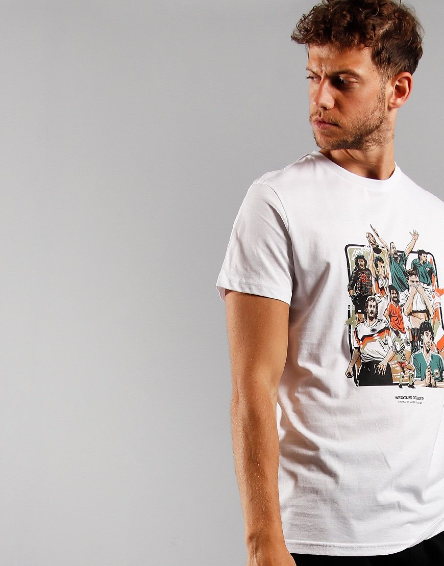 Weekend Offender Players T-Shirt White