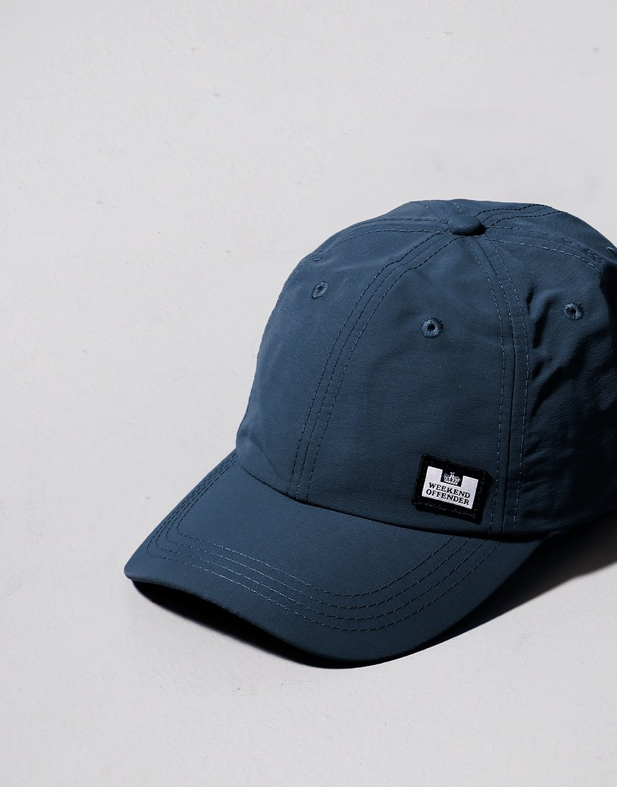 Weekend Offender Alam Poly Cap Blue