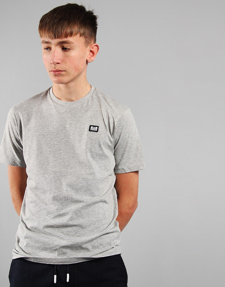 Weekend Offender Kids Badge T-Shirt Grey