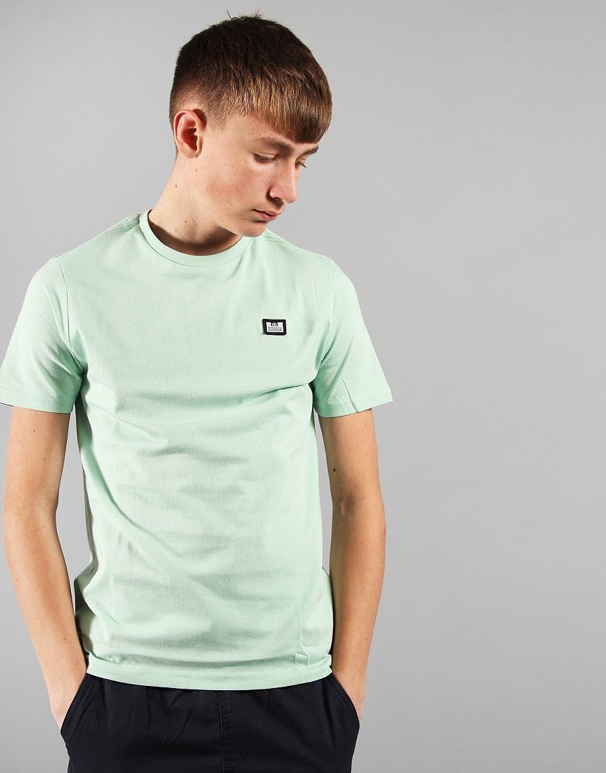 Weekend Offender Kids Badge T-Shirt Mint