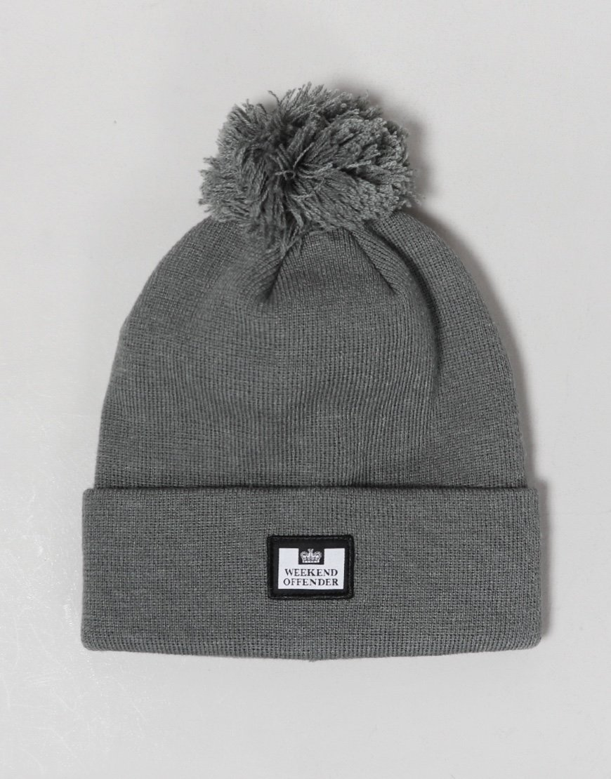 Weekend Offender Bambesi Bobble Hat Grey