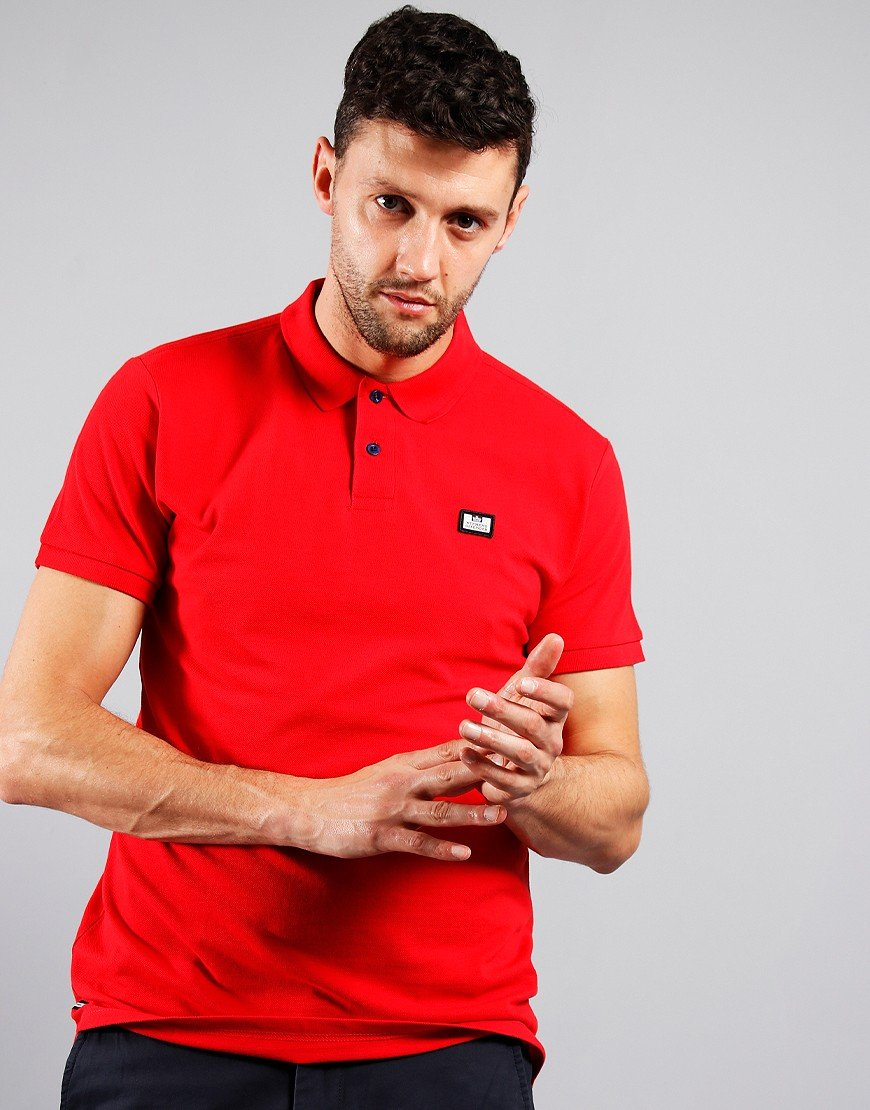 Weekend Offender Barnum Polo Shirt Ruby