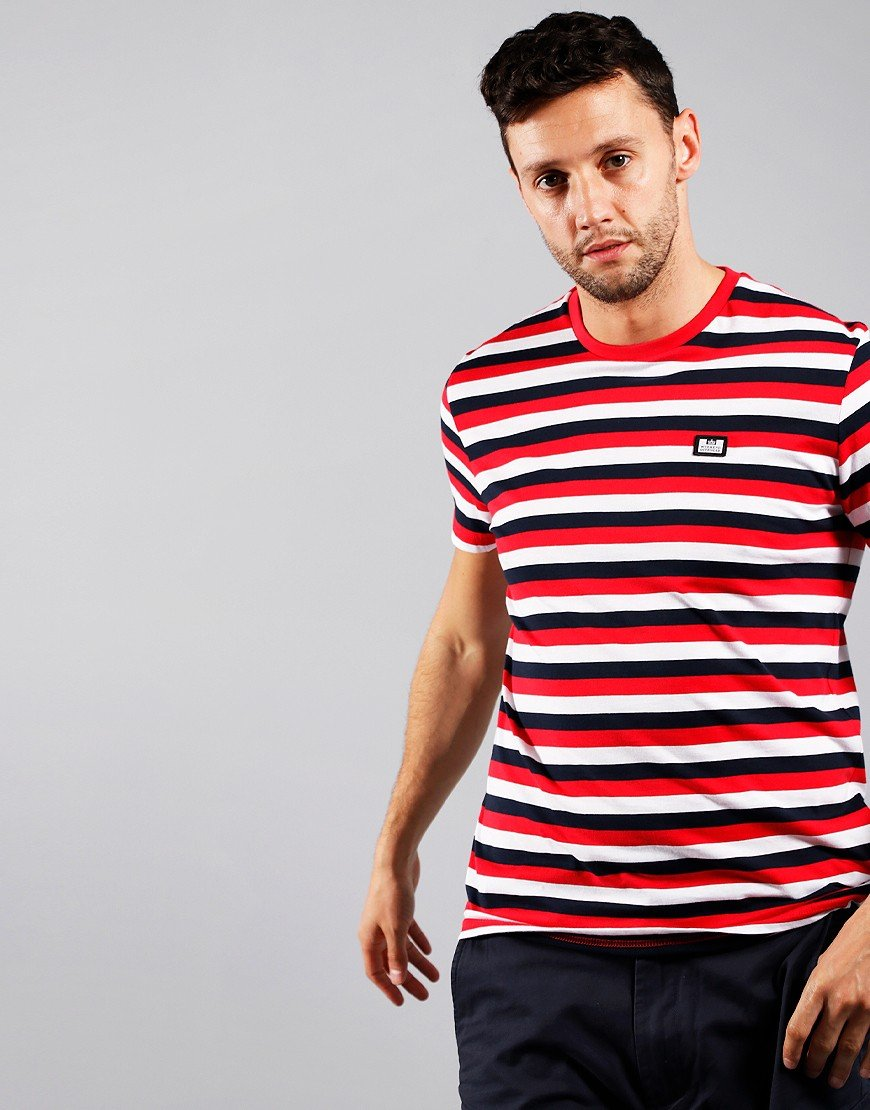 Weekend Offender Brant T-Shirt Ruby
