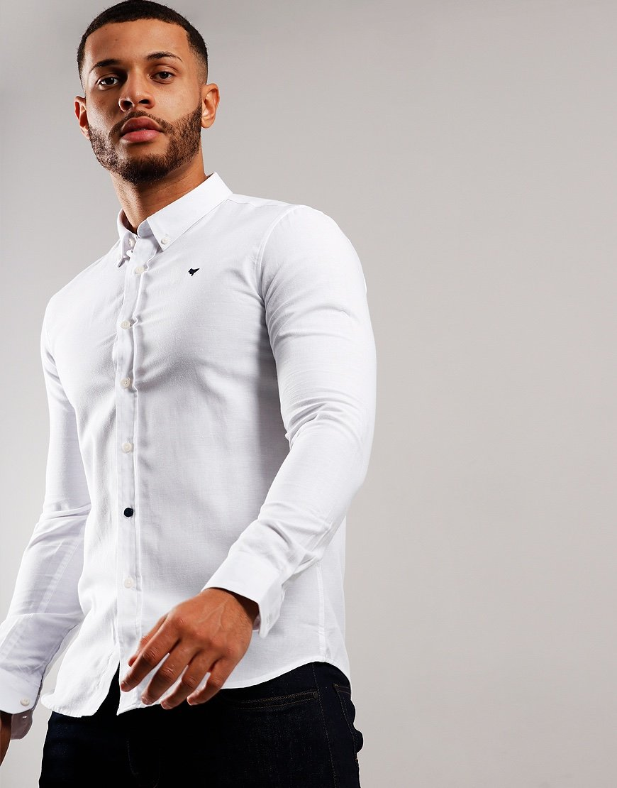 Weekend Offender Carlo Shirt White