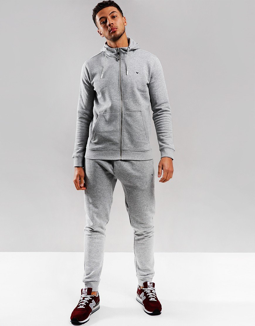 Weekend Offender Carillo Jog Suit Grey Marl