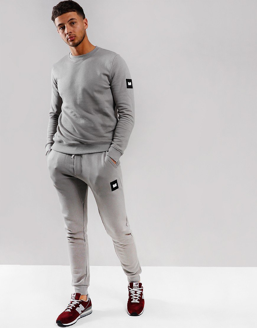 Weekend Offender Cartel Jog Suit Mid Grey