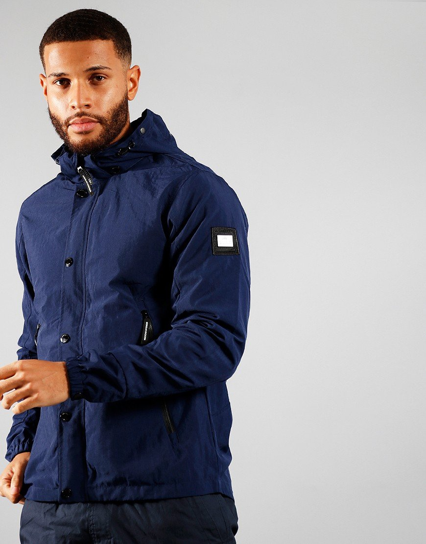 Weekend Offender Cobija Jacket Navy
