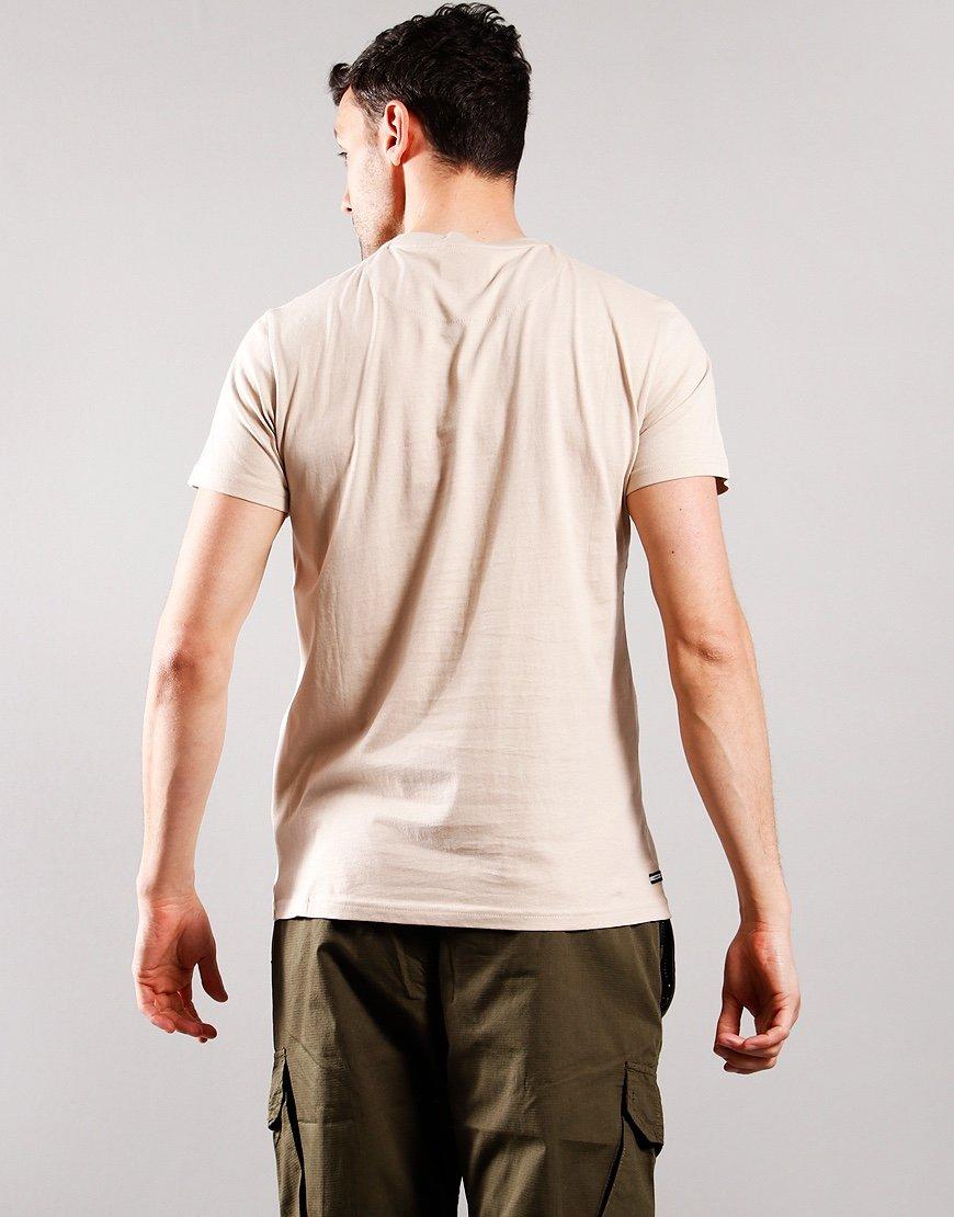 Weekend Offender Crossword T-Shirt Sand/Navy/White