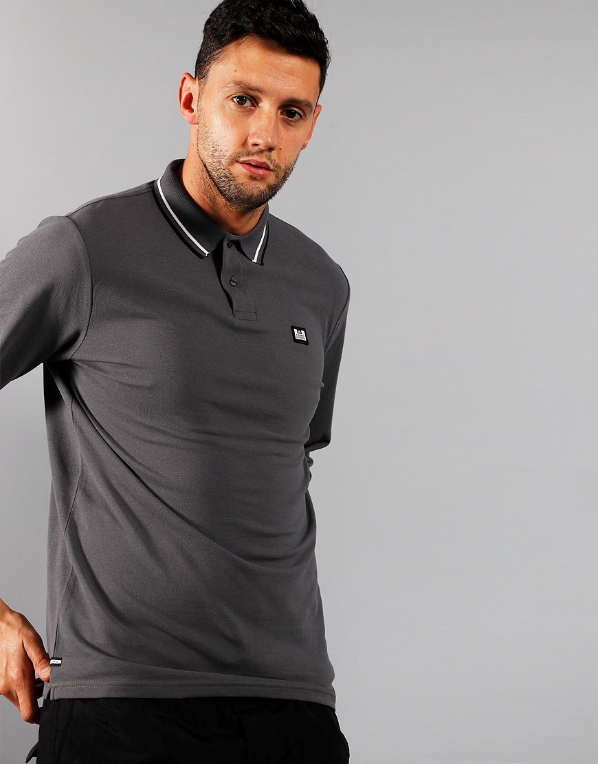 Weekend Offender Drills Polo Shirt Charcoal