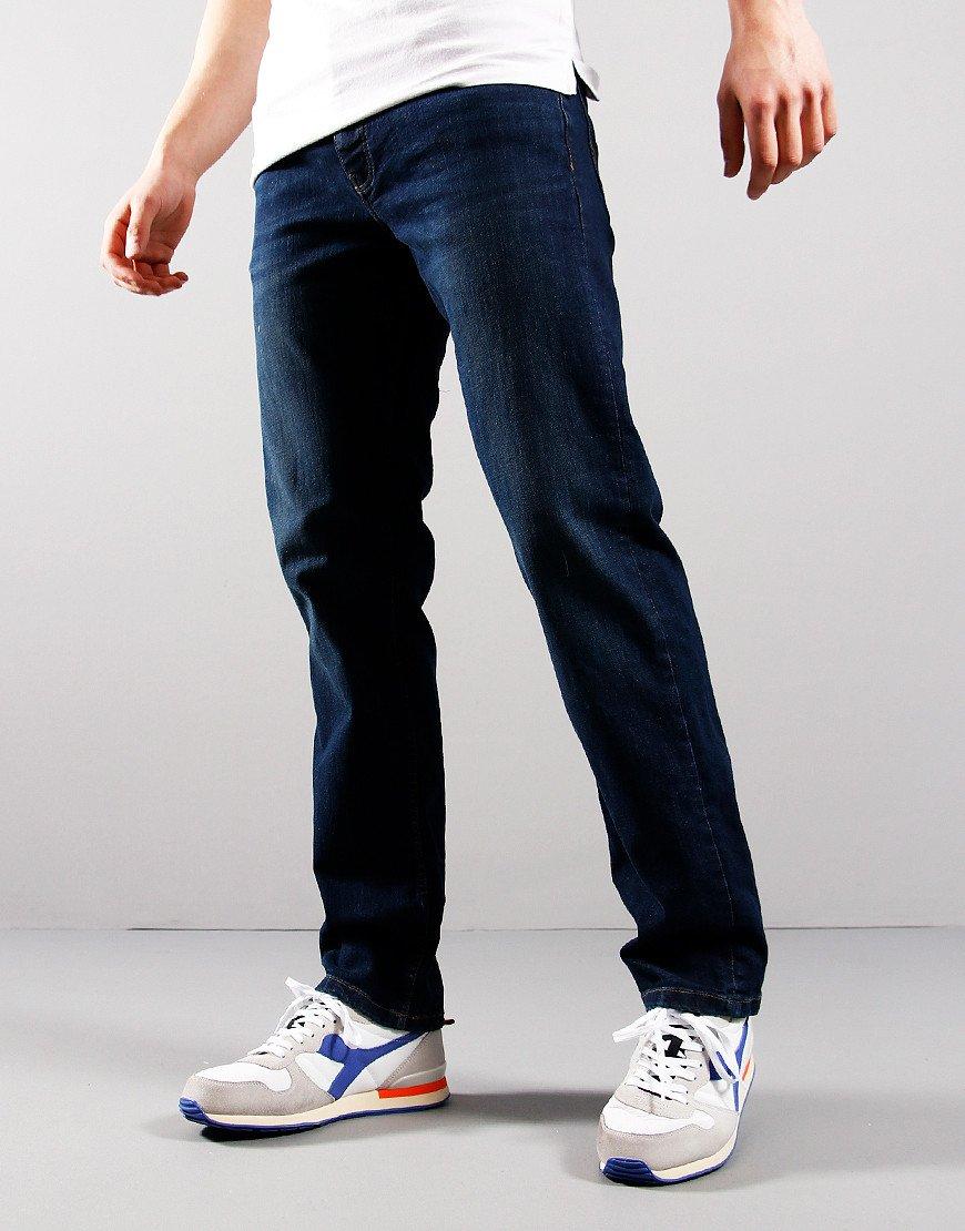 Weekend Offender Easy Fit Jeans Dark Vintage