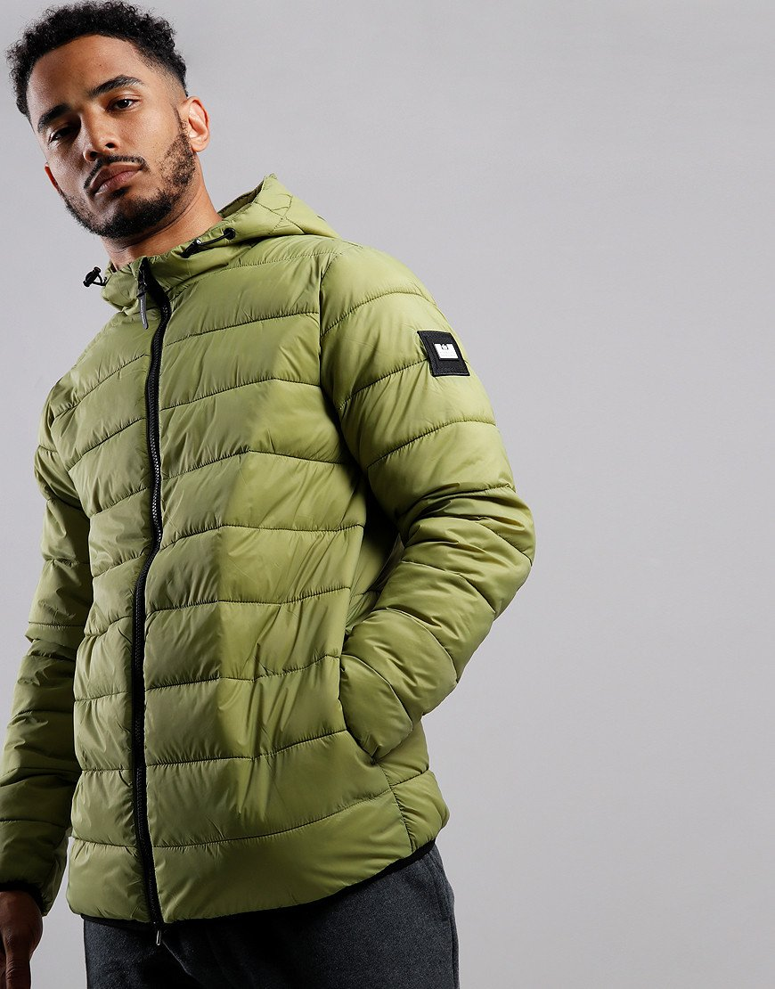 Weekend Offender Frazier Quilted Jacket Nettle