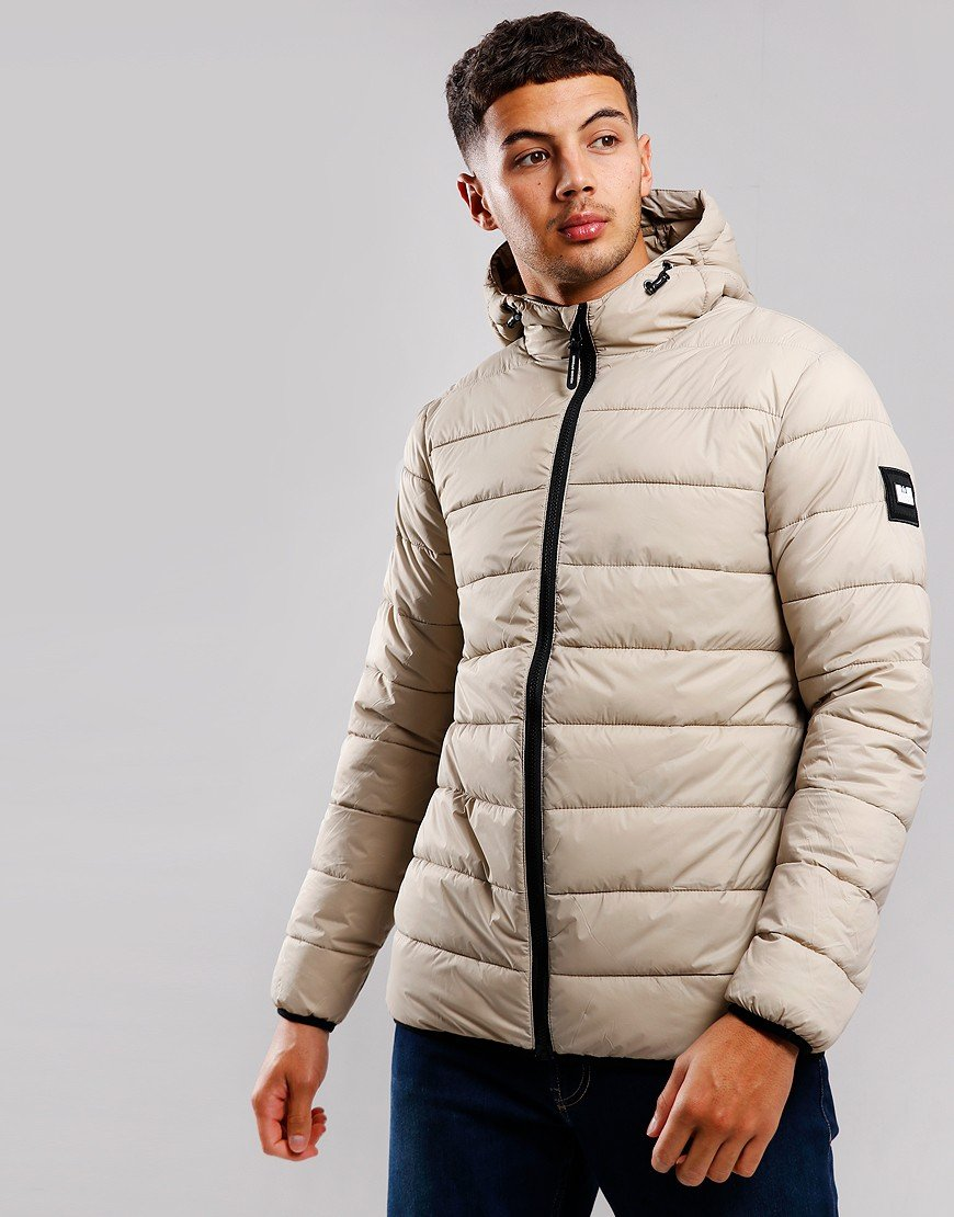 Weekend Offender Frazier Quilted Jacket Stone